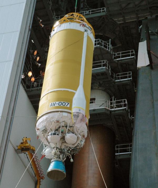 Centaur upper-stage rocket