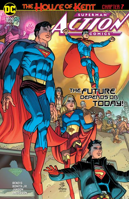 Action Comics #1028 Cover A John Romita Jr Klaus Janson