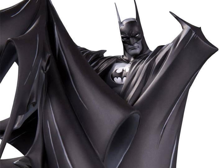 Batman Black and White Statue by Todd McFarlane close