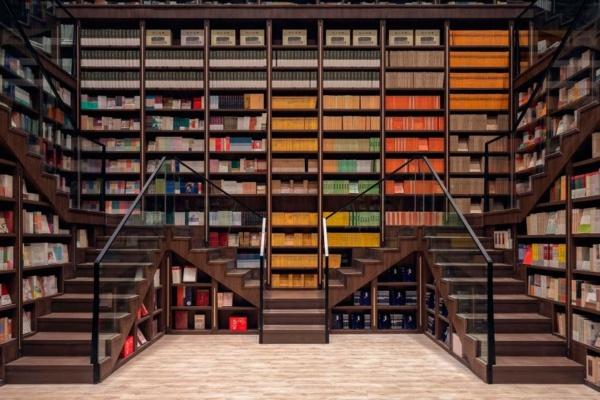 Chongqing Zhongshuge bookstore in China