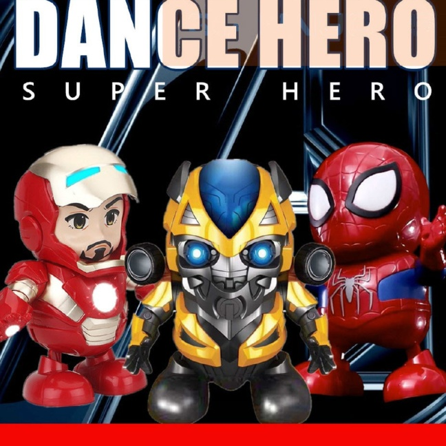 Dance hero dancing superheroes