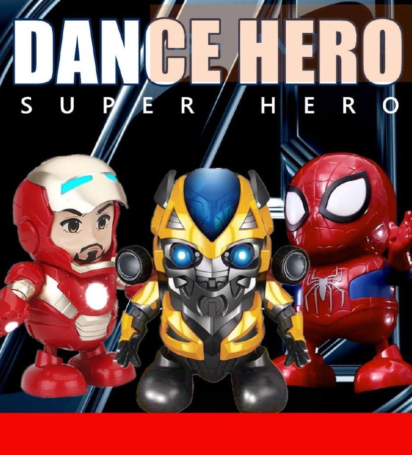 Dance hero dancing superheroes