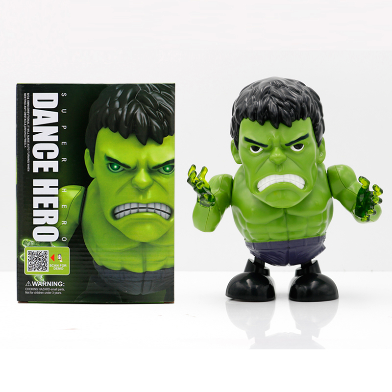 Dance Hero Dancing Superheroes - Hulk with box