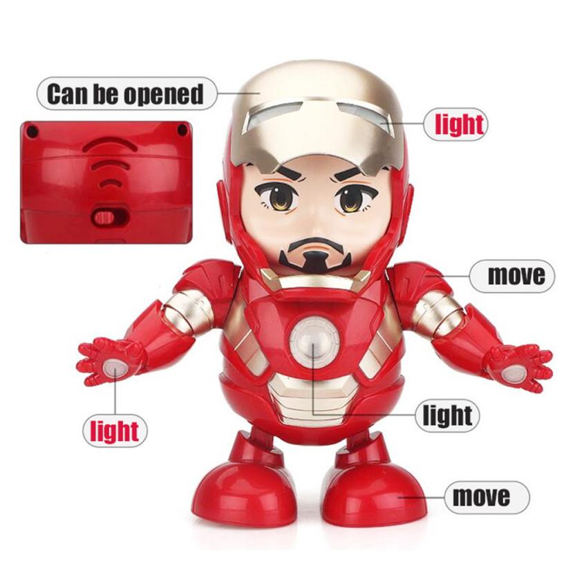 Dance Hero Dancing Superheroes - Iron Man labelled