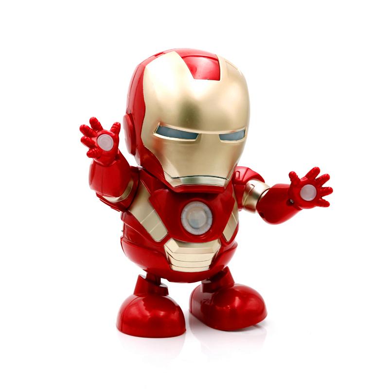 Dance Hero Dancing Superheroes - Iron Man mask down