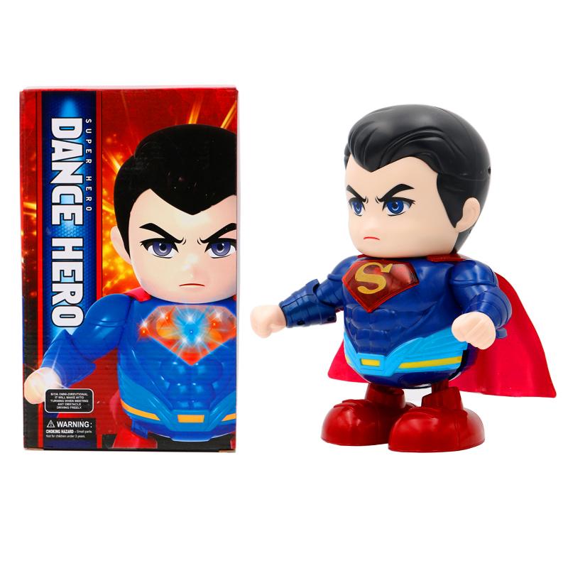 Dance Hero Dancing Superheroes - Superman with box