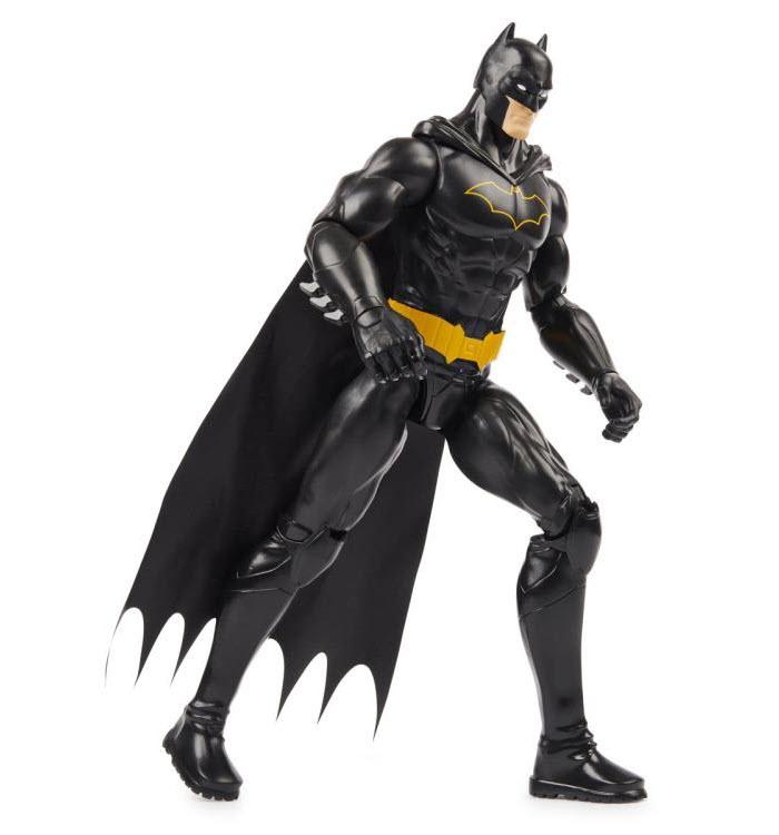 DC Comics Batman Black Suit 12-inch Action Figure stepping