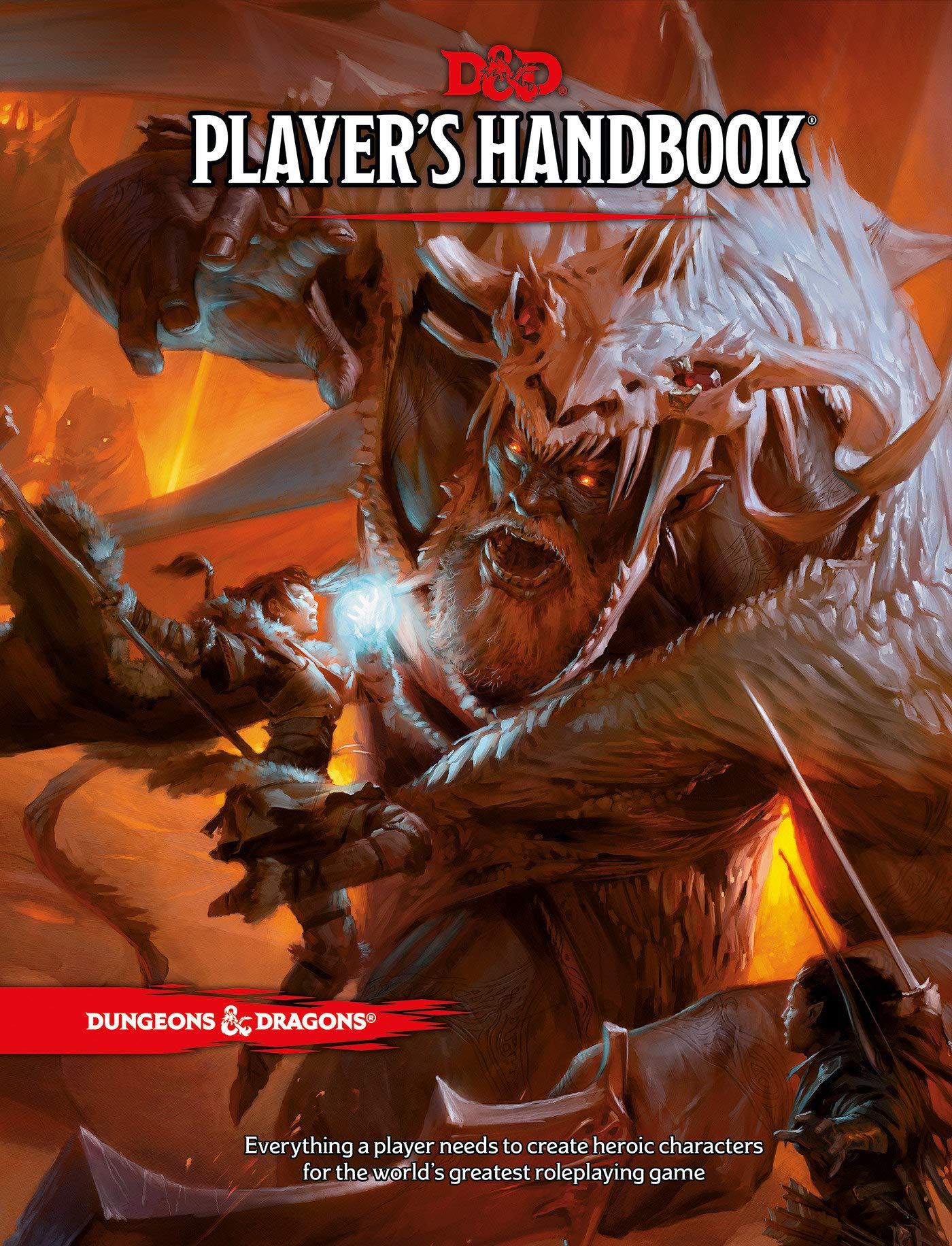Dungeons & Dragons D&D Player's Handbook cover
