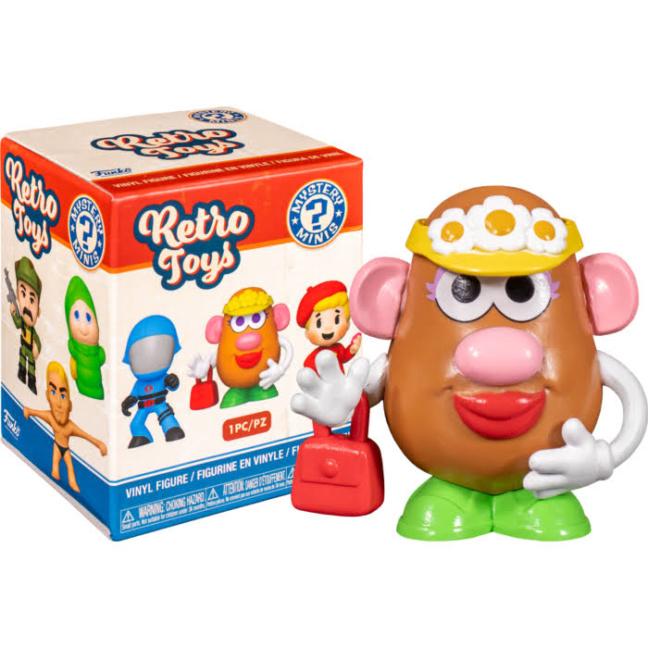 Funko Hasbro Mystery Minis Mini-Figures Retro Toys box and potato head