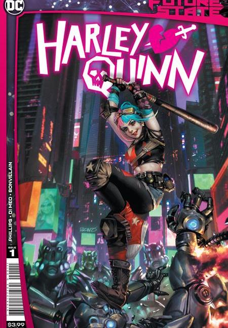 Future State Harley Quinn #1 Cover A Derrick Chew
