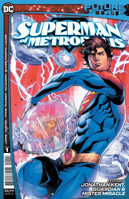 Future State Superman of Metropolis #1 Cover A John Timms