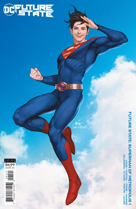 Future State Superman of Metropolis #1 Cover B Inhyuk Lee Card Stock Variant