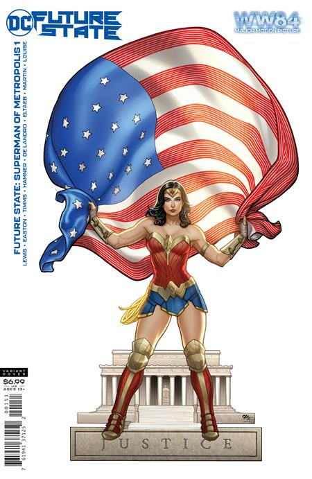 Future State Superman of Metropolis #1 Cover D Wonder Woman 1984 Frank Cho Card Stock Variant