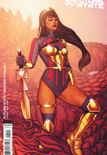 Future State Wonder Woman #1 Cover B Jenny Frison card stock