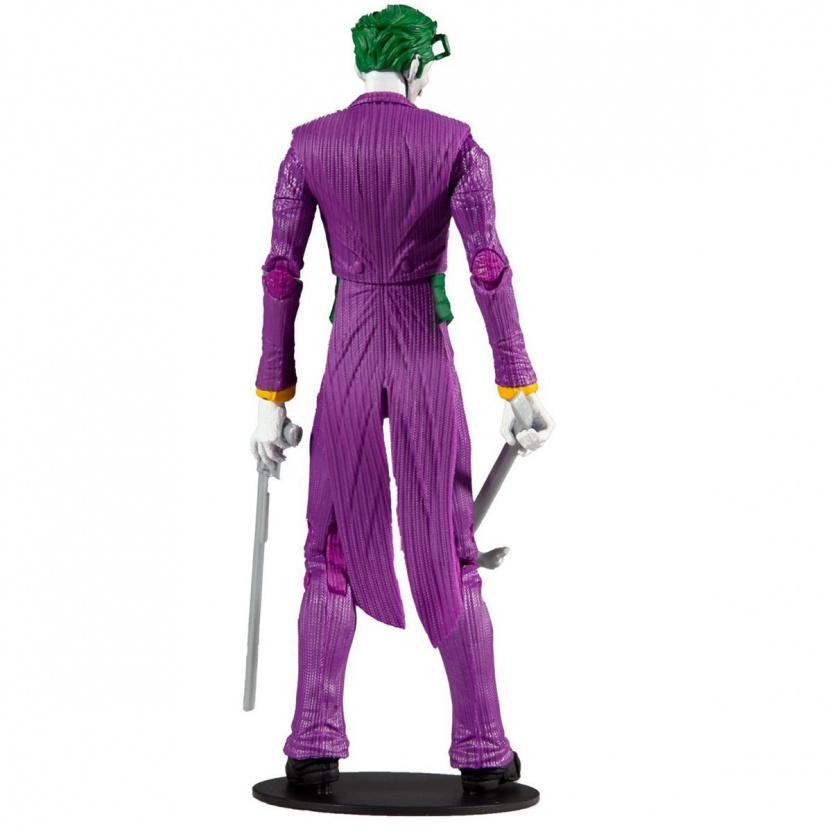 Joker 7-inch figure - DC Multiverse Wave 3 Modern Comic Joker back