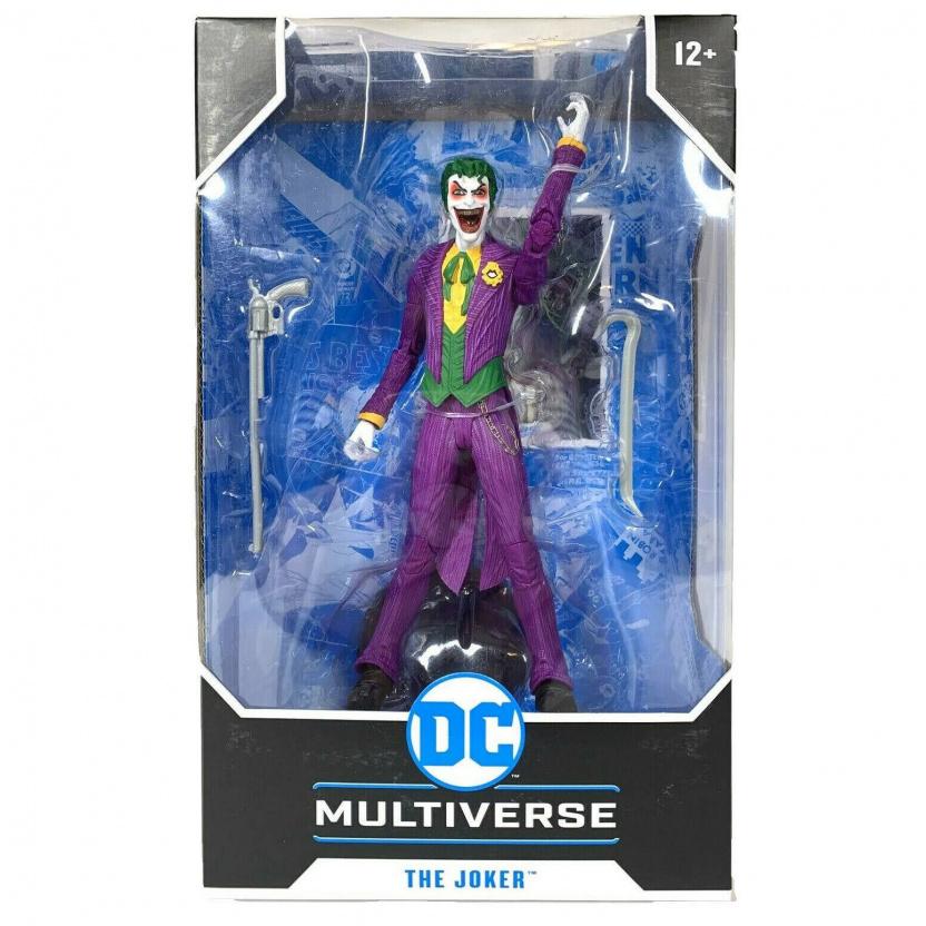 Joker 7-inch figure - DC Multiverse Wave 3 Modern Comic Joker box front