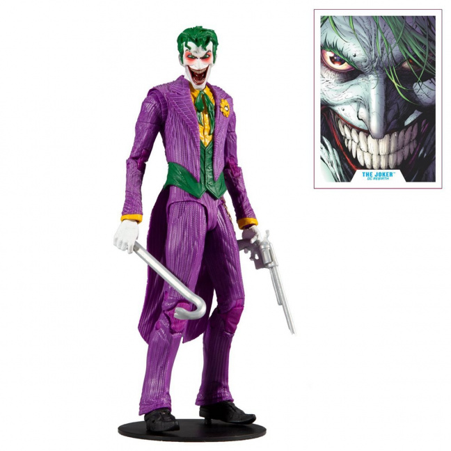 Joker 7-inch figure - DC Multiverse Wave 3 Modern Comic Joker full