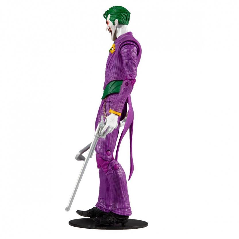 Joker 7-inch figure - DC Multiverse Wave 3 Modern Comic Joker left side