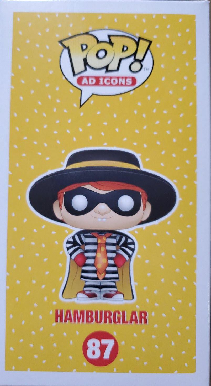 McDonald's Hamburglar Funko Pop! Vinyl Figure side 2