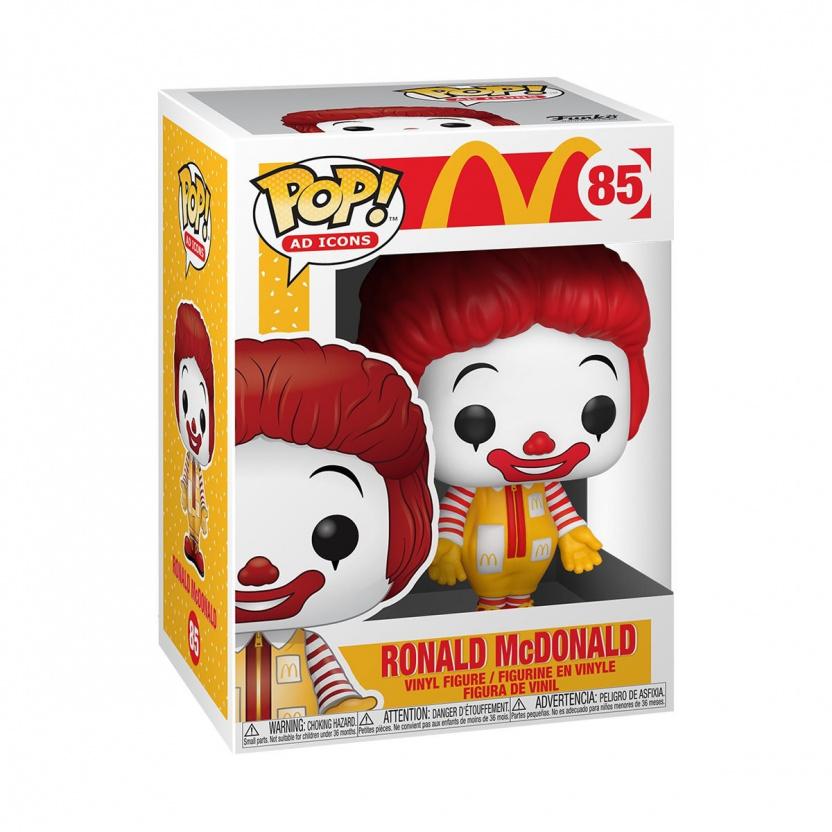 McDonald's Ronald McDonald Funko Pop! Vinyl Figure box