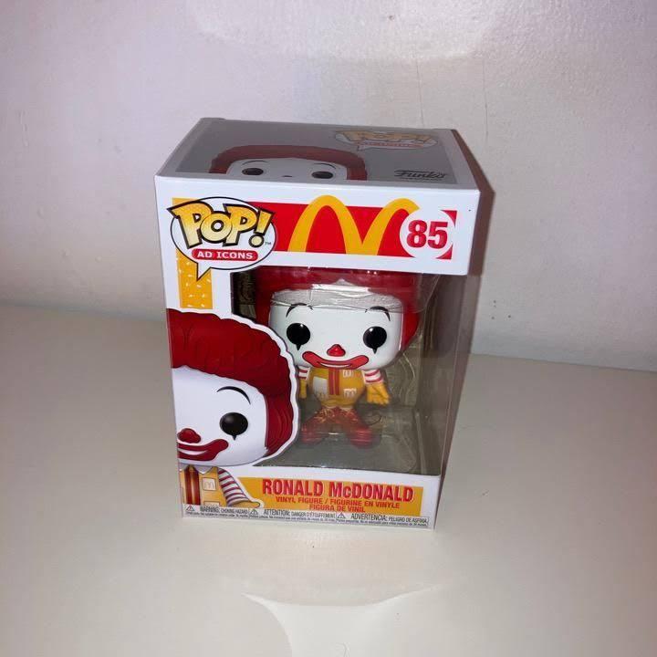 McDonald's Ronald McDonald Funko Pop! Vinyl Figure box front