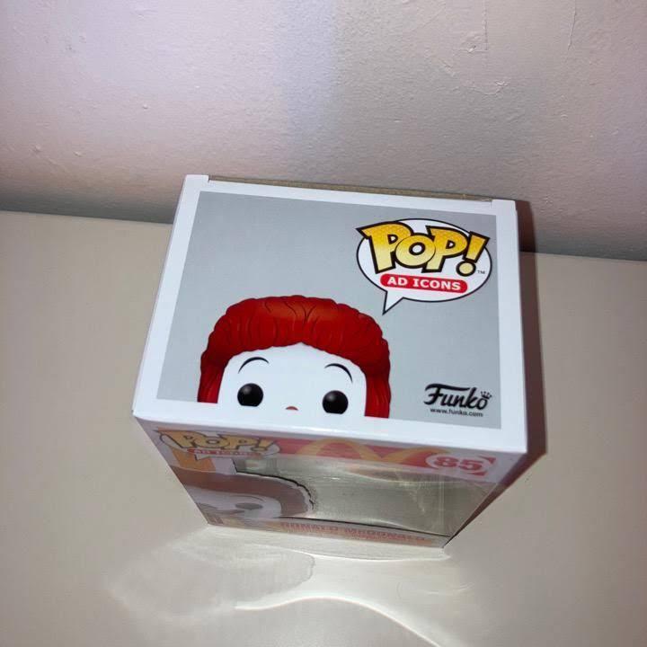 McDonald's Ronald McDonald Funko Pop! Vinyl Figure box top