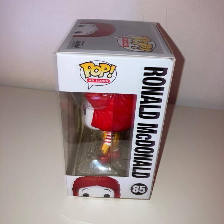 McDonald's Ronald McDonald Funko Pop! Vinyl Figure right side