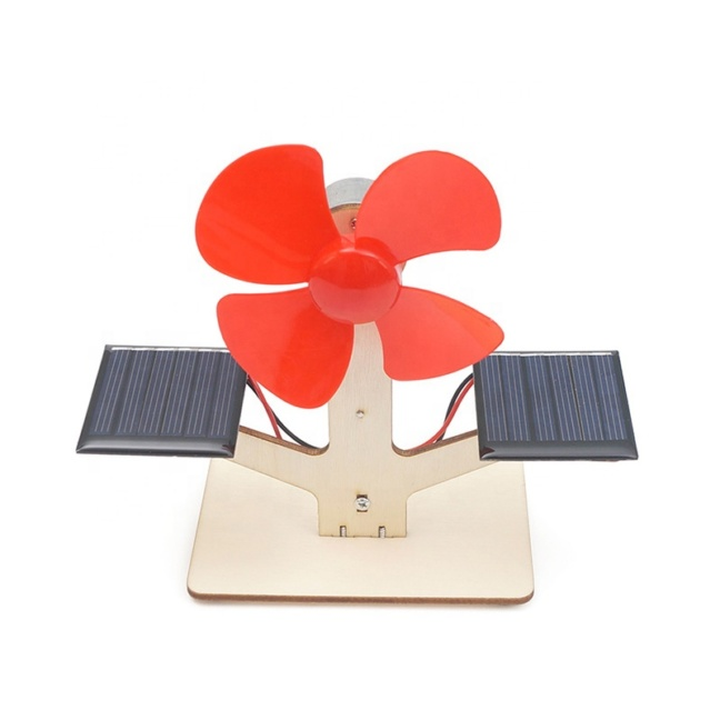 Solar powered fan kit - Solar fan science model