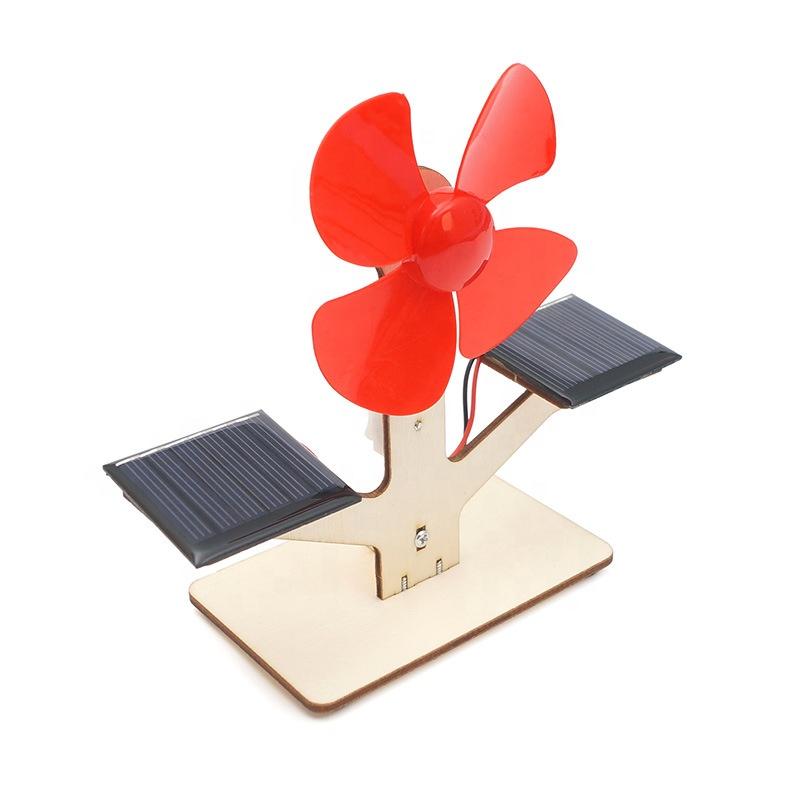 Solar powered fan kit - Solar fan science model
