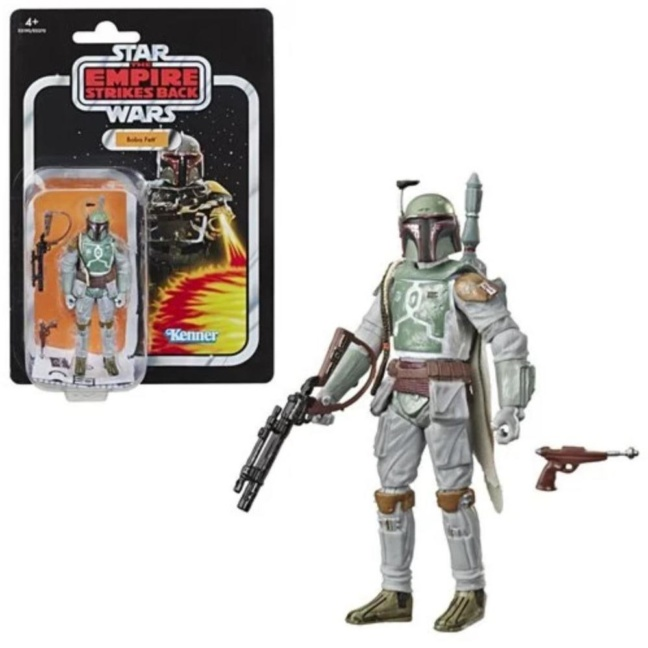 Star Wars The Vintage Collection Boba Fett Action Figure with box
