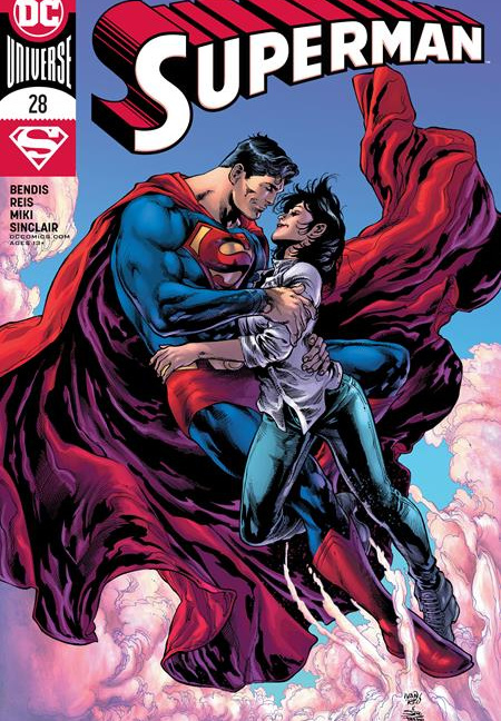 Superman #28 Cover A Ivan Reis Joe Prado