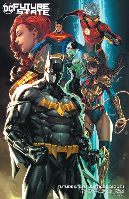 Future State Justice League #1 Cover B