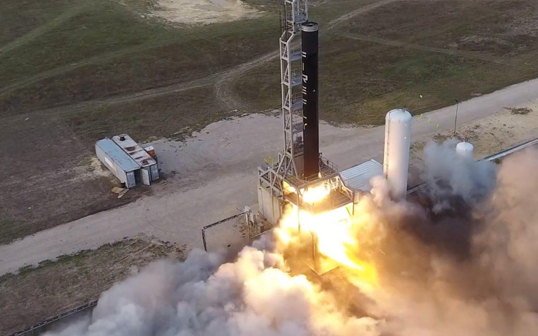 Firefly Aerospace test-fires Alpha rocket