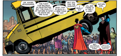 Action Comics #1028 - Hey, you should team up with Robin! That's all you should ever do! frame