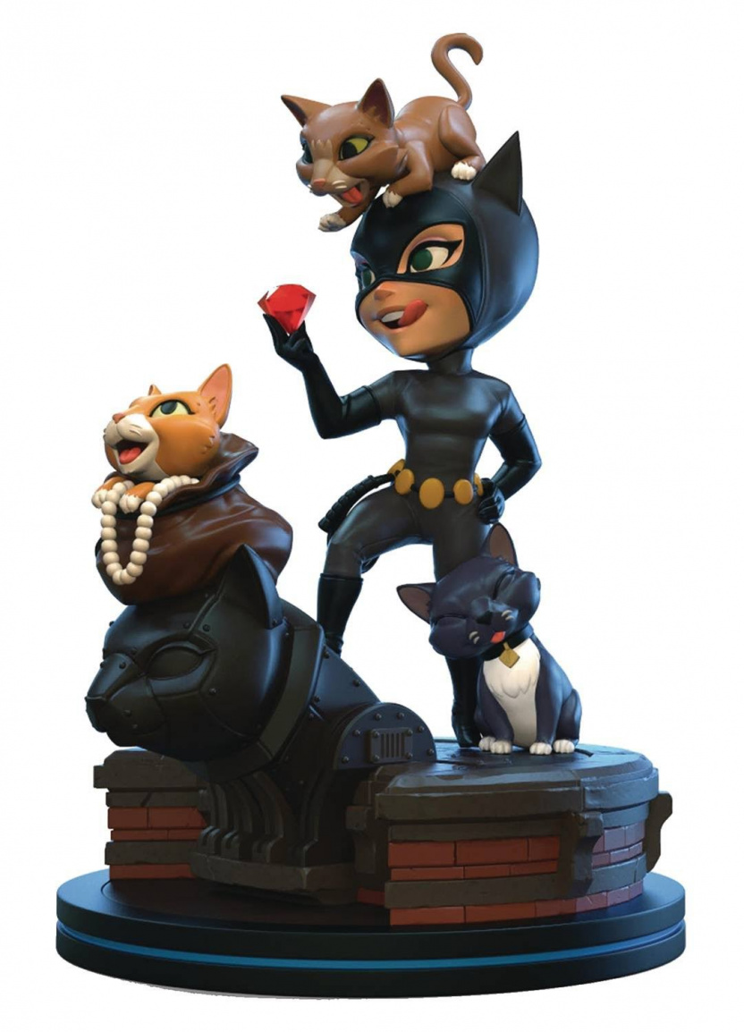 Catwoman Q-Fig Statue - Batman: The Animated Series Catwoman Q-Fig Elite Statue