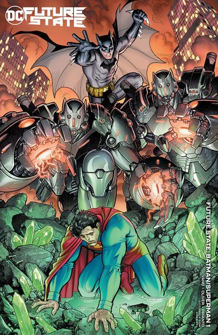 Future State Batman Superman #1 Cover B
