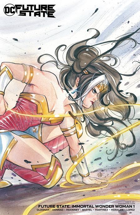 Future State Immortal Wonder Woman #1 Cover B Peach Momoko Card Stock Variant