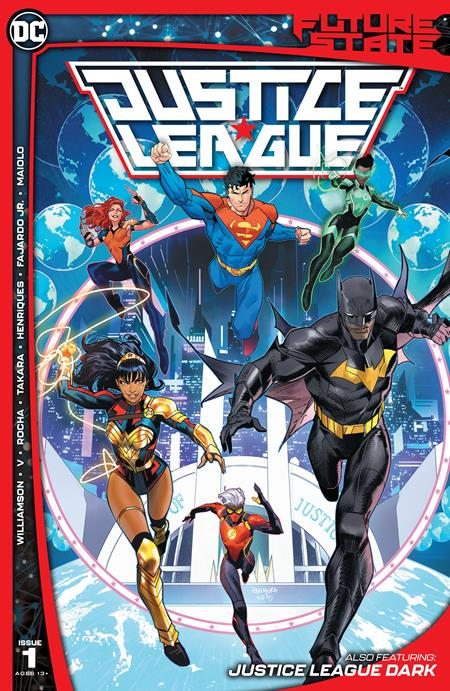 Future State Justice League #1 Cover A