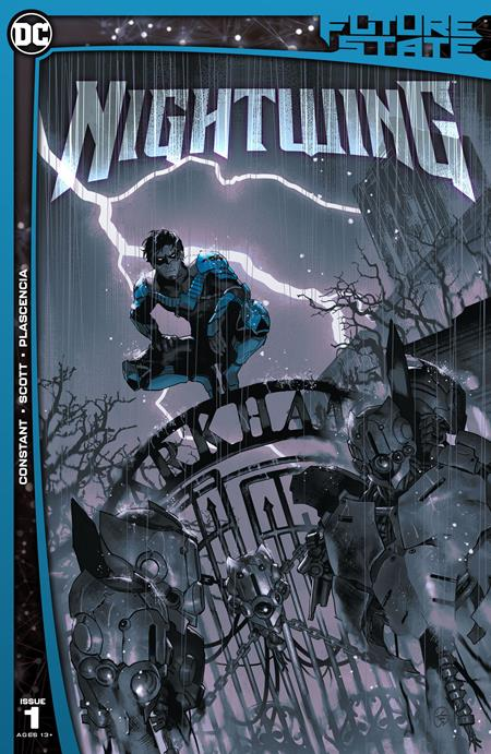 Future State Nightwing #1 Cover A yasmine Putri