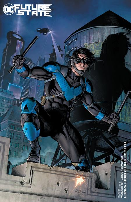 Future State Nightwing #1 Cover B Nicola Scott Card Stock Variant