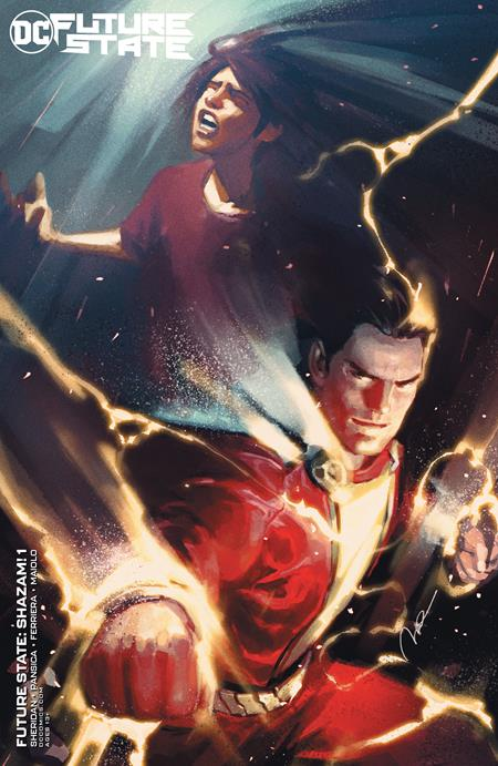 Future State Shazam #1 Cover B Gerald Parel Card Stock Variant