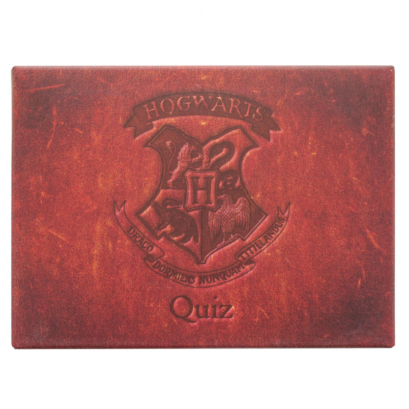 Harry Potter Trivia - Harry Potter Hogwarts Trivia Quiz Game box close