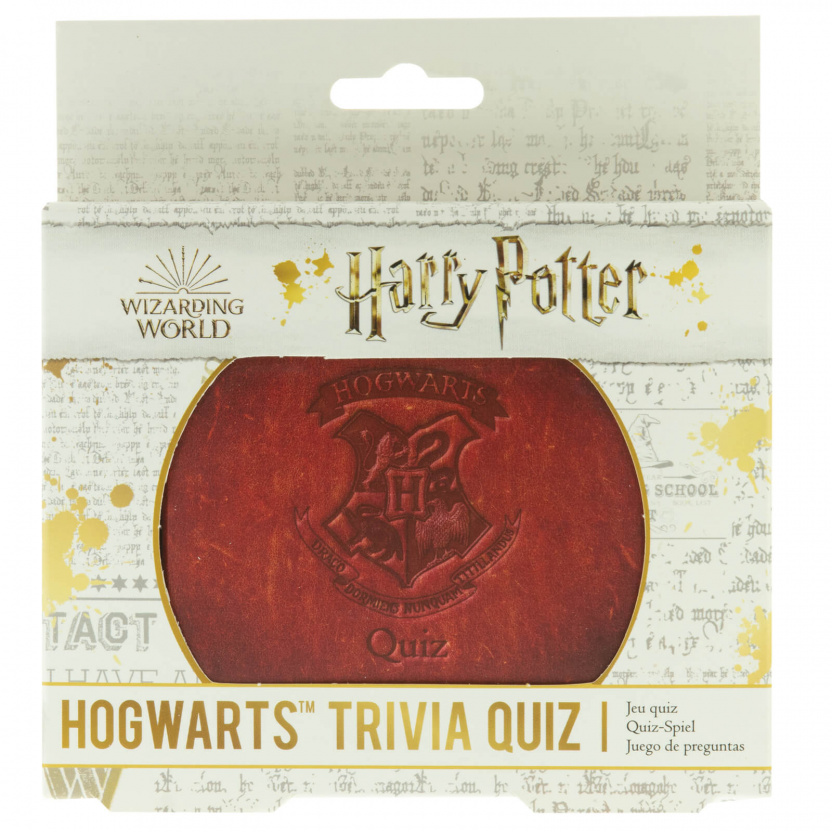 Harry Potter Trivia - Harry Potter Hogwarts Trivia Quiz Game in box