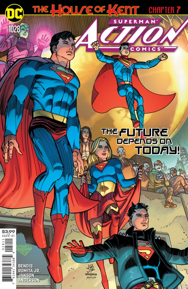 Action Comics #1028 Cover