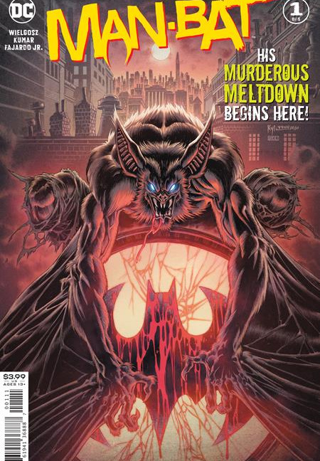 Man-Bat #1 (OF 5) Cover A Kyle Hotz