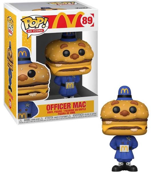 McDonald's Officer Big Mac Funko Pop Vinyl Figure with box