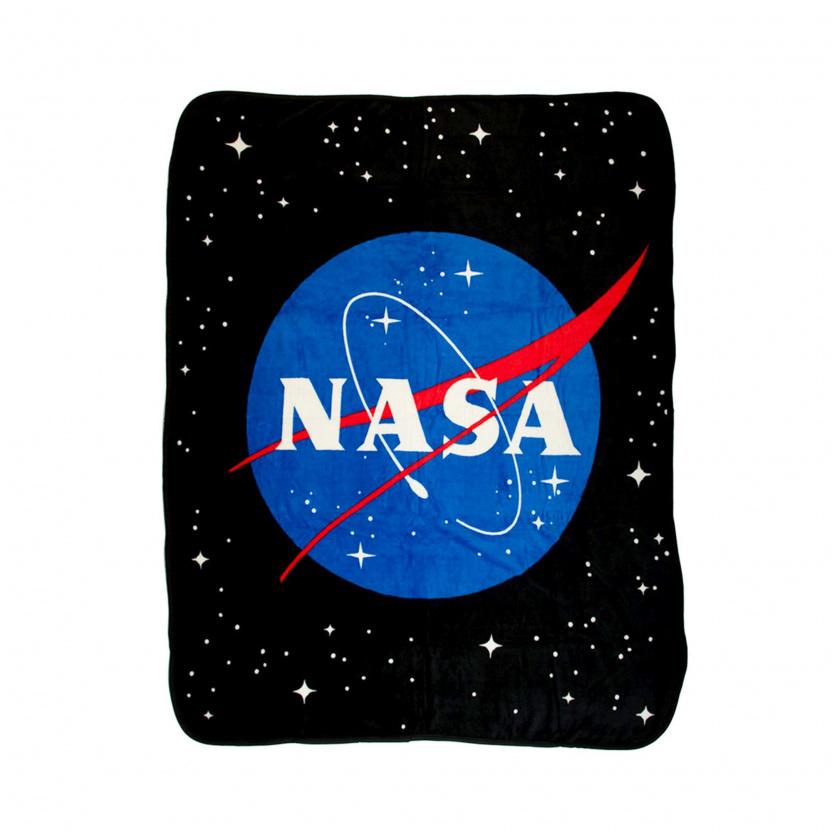NASA blanket - Coral Fleece Throw NASA Icon Plush Throw Blanket