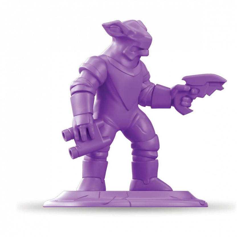 Special Edition Retro Dino-Riders Rulon Warriors Battle Pack gun