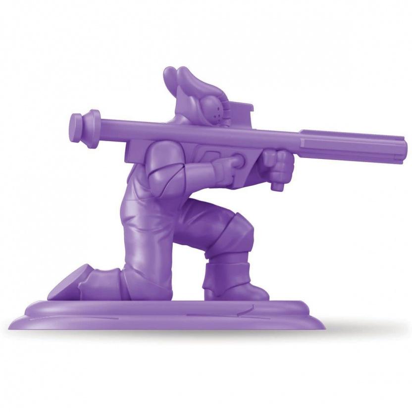 Special Edition Retro Dino-Riders Rulon Warriors Battle Pack purple man