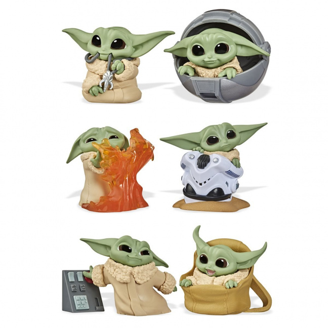 Star Wars The Mandalorian Baby Bounties - The Bounty Collection Wave 2